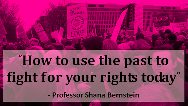 Women's March on DC - How to use the past to fight for your rights today. S Bernstein