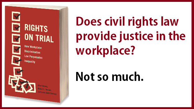 Civil Rights law in the workplace doesn't work.